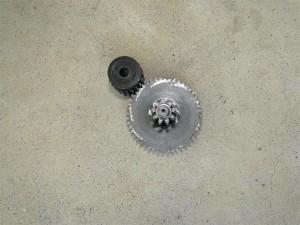 MakeLV Filament Extruder (8)-gear reduction set