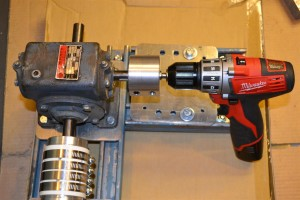Extruder Drill for Testing (Large)