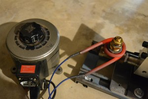 Extruder heater test to evaluate operating voltages and currents